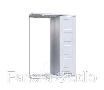 Зеркало Симфония со шкафчиком и подсветкой 65 см