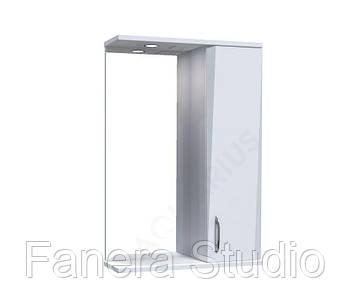 Зеркало Жако со шкафчиком и подсветкой 60 см