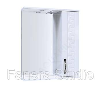 Зеркало ANTIK со шкафчиком и подсветкой 55 см