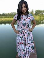 Летнее платье цветочное Linda 187-6
