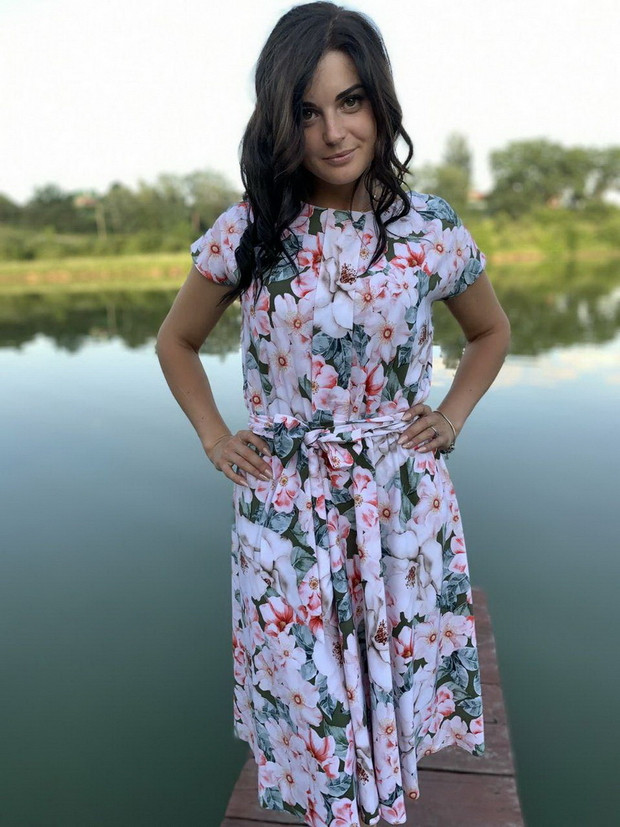летнее платье - Lenneli