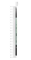 Кисть ROSA Єнот круглий, OASIS 188, № 1, коротка ручка