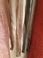Застежка-молния металлическая длина 180 см цвет хаки, фото 1