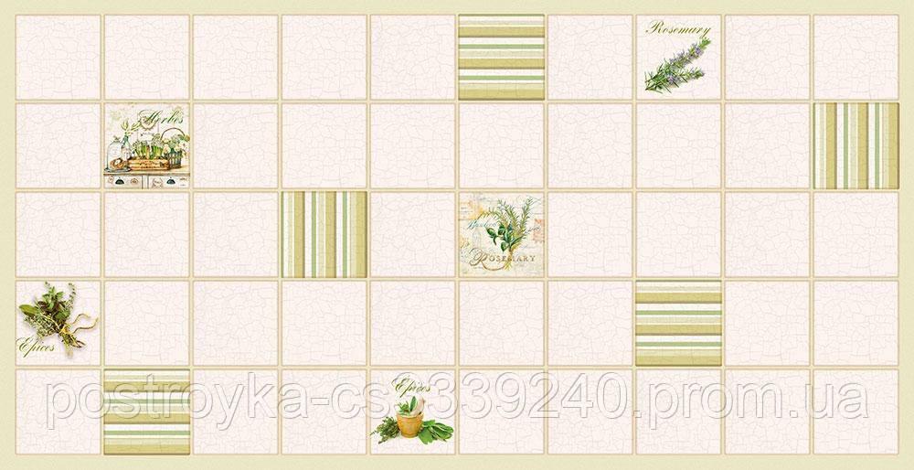 Декоративные Панели ПВХ плитка Розмарин