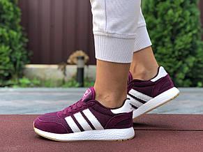 Женские кроссовки Adidas Iniki,фуксия (малиновые) 38,40р, фото 3