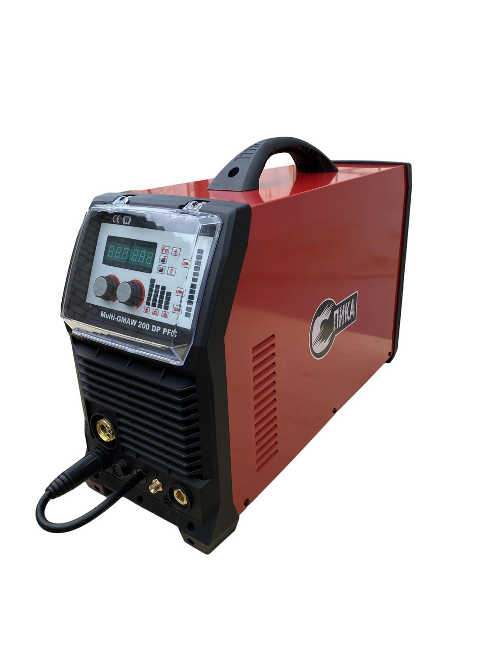 Многофункциональный полуавтомат СПИКА Multi-GMAW 200 DP PFC ( Двойной пульс )