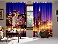 Шторы 3D Сан-Франциско (2 шт. Комплект)