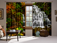 Шторы 3D Водопад (2) (2 шт. Комплект)