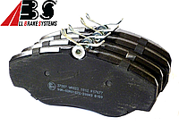 Тормозные колодки передние на Renault Trafic / Opel Vivaro (2001-2014) ABS (Нидерланды) ABS37287
