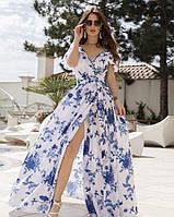 Летнее платье 2020 женское цвет:белый размер:S