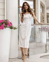 Летнее платье 2020 женское цвет:белый размер:S, XL, M, L