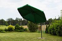 Садовый зонт Furnide зеленый,300 см.