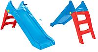 Дитяча гірка пластикова Mochtoys blue 140см 11966