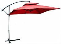 Садовий парасолька Desco ,250х250 див. бордовий,
