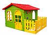 Детский игровой домик Mochtoys с террасой 10498