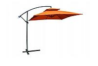 Садовий парасолька Desco, 250х250 см, оранжевий