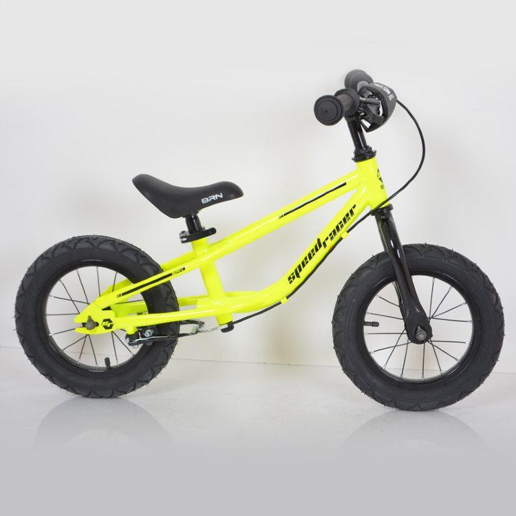 Дитячий беговел 12 дюймів (BRN)B-2 Yellow Air wheels