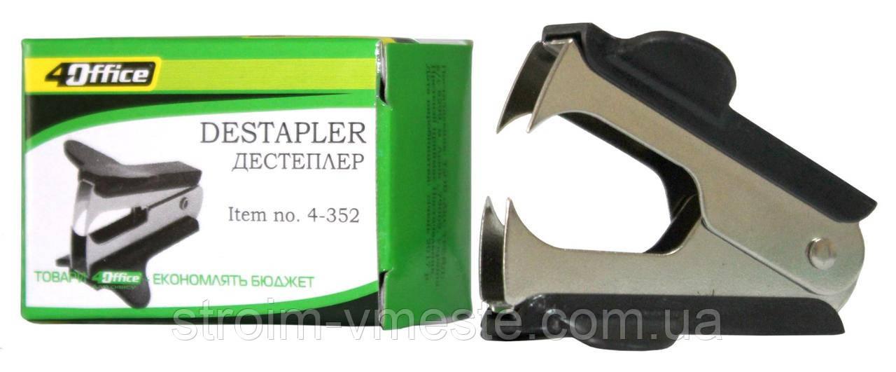 Антистеплер (дестеплер) канцелярский с фиксатором 4OFFICE 4-352