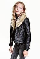 Куртка HM 152 см Черный 3878274, КОД: 1694536