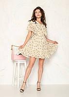 Короткое женское платье с 36 по 40 рр.