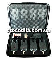 Набор электронных сигнализаторов поклевки с пейджером  4+1 Hirisi JY -10, фото 1