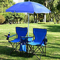 🔝 Зонт с наклоном от солнца, синий, большой зонтик садовый, пляжный с доставкой по Украине и Киеву    🎁%🚚