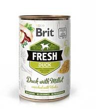 Brit Fresh Duck with Millet с уткой и пшеном