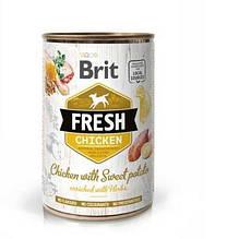 Brit Fresh Chicken with Sweet Potato с курицей и бататом
