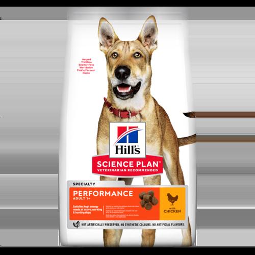 Hills (Хиллс) Adult Performance сухой корм для рабочих и спортивных собак, 14 кг
