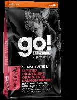 GO! Sensitivity + Shine Salmon Dog Recipe беззерновой корм с лососем, 11.34 кг