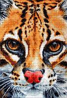 Набор для вышивания нитками LUCA-S Leopardus pardalis (BU4008)