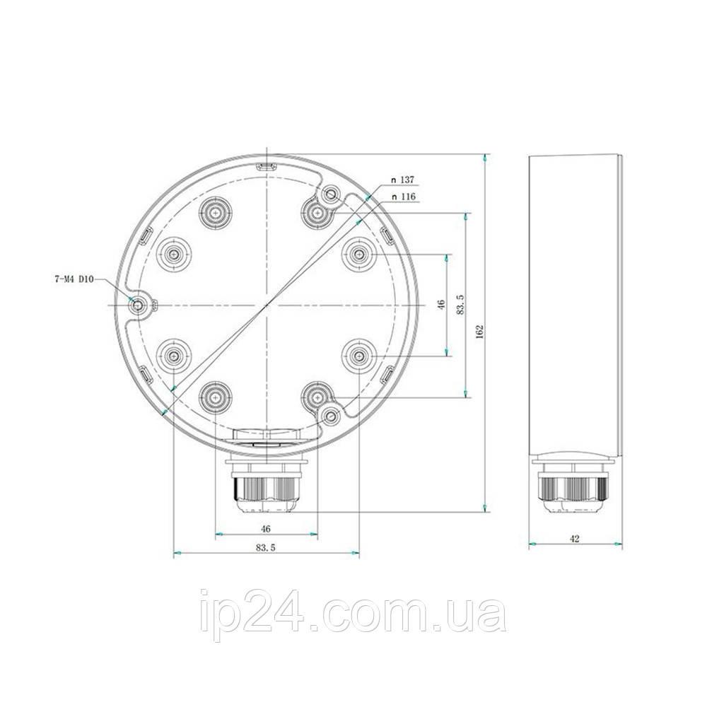 DS-1280ZJ-DM21 Распределительная коробка