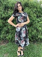 Летнее платье цветочное Linda 187-17, фото 1