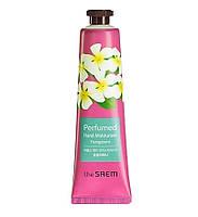Крем для рук The Saem Perfumed Hand Moisturizer Frangipani 30 мл 8806164122365, КОД: 1787528