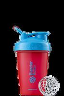 Спортивный шейкер BlenderBottle Classic Loop 590 ml Sonic Red Blue, КОД: 977676