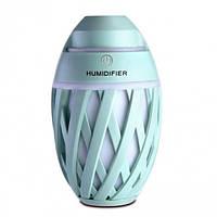 Мини увлажнитель воздуха ночник Anymore small humidifier Мятный 15667G, КОД: 307819