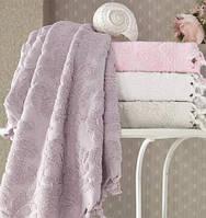 Набор 4 полотенца Pupilla Elize 50х90 см лицевые хлопок Разноцветные psgSA-4580, КОД: 945546