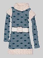 Платье Marions 140см Бело-бирюзовый 7356, КОД: 1581707