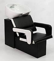 Парикмахерская мойка ЧипF с креслом для салона красоты,стационарная мойка для парикмахерских (120*65*96)