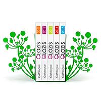 Упоры для книг Glozis Spring G-007 30 х 20 см КОД: G-007