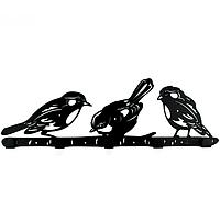 Вешалка настенная Glozis Birds H-066 50 х 16 см КОД: H-066