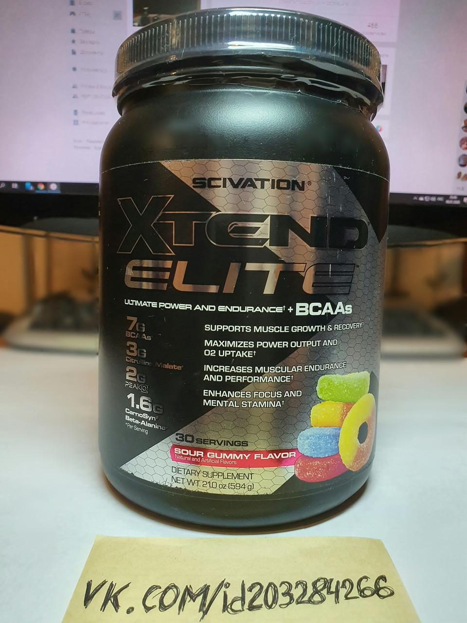 Аминокислоты BCAA Scivation Xtend Elite 594g