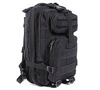 Рюкзак военный тактический штурмовой с USB Спартак Molle Assault 36L Black КОД: 007031