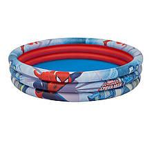 Детский надувной бассейн Bestway 98006 «Спайдер Мен, Человек-Паук», 152 х 30 см
