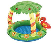 Детский надувной бассейн Bestway 52179 «Джунгли», 99 х 91 х 71 см