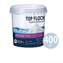 Флокулянт (коагулянт, флокер) в гранулах для воды в бассейне 80412 ECM (Венгрия), 400 г