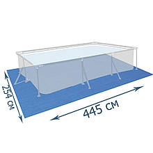 Подстилка для бассейна Bestway 58102, 445 х 254 см, прямоугольная