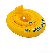 Надувной круг Intex 56585, серия «Школа плавания», с трусиками, 70 см