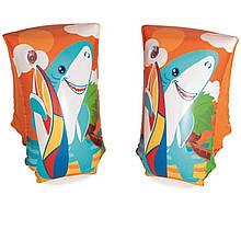 Нарукавники для плавания Bestway 32102 «Акула», 30 х 15 см