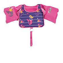 Детский жилет  Bestway 32174, «Русалочка», S (3 - 6) 18 - 30 кг, розовый